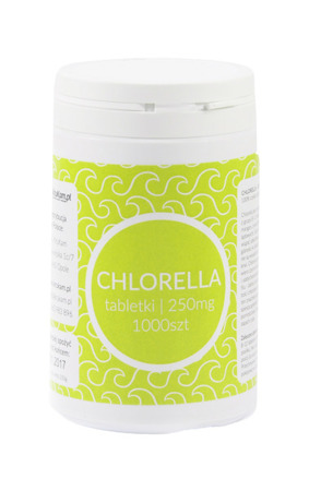 Chlorella 250mg tabletki 1000szt.