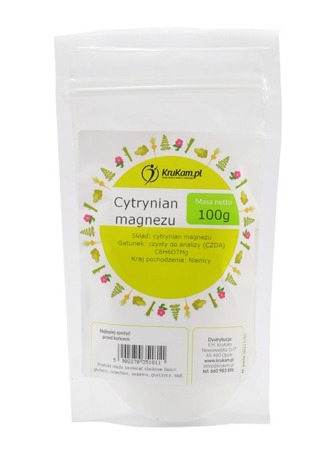 Cytrynian Magnezu 100g