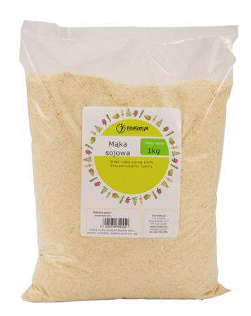 Mąka sojowa 1kg BEZGLUTENOWA