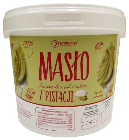 Masło z pistacji wiadro 5kg