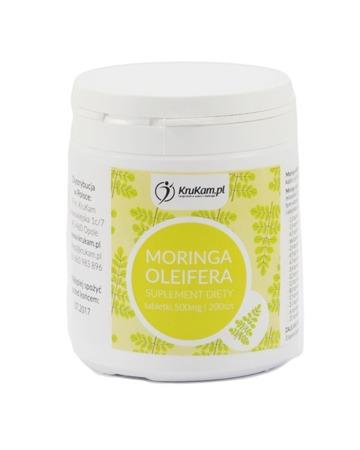 Moringa Oleifera tabletki 200szt Drzewo cudów
