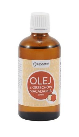 Olej Macadamia Makadamia surowy kosmetyczny 100ml